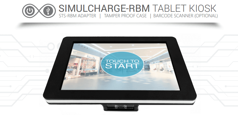 Long Lastig Tablet Kiosk for Retail