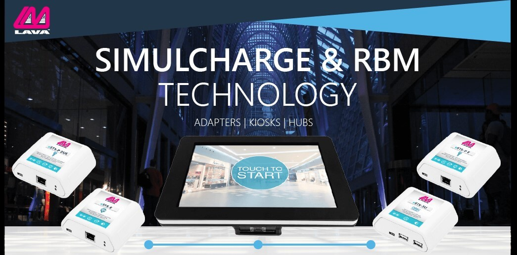 SimulCharge and RBM Adapters for Samsung Tablets
