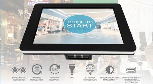 LAVA Simulcharge-RBM Tablet Kiosk