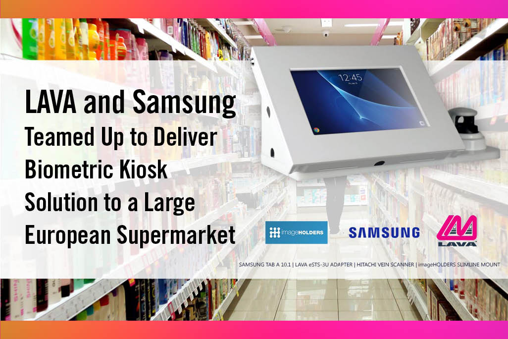 Biometric Samsung Tablet Kiosk