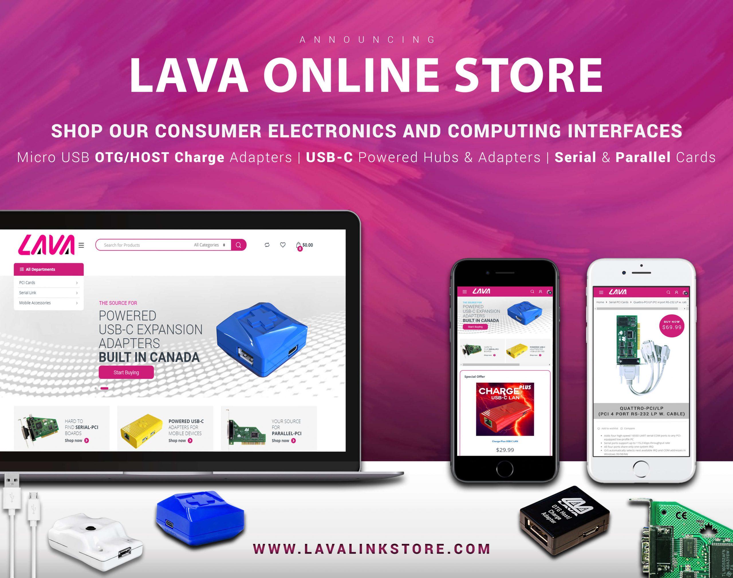 LAVA Online Store